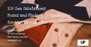 Poses and Pledges: A Fundraiser for Warriors at Ease