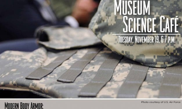 Medical Museum Science Cafe: Modern Body Armor – How Science, Medicine, and Collaboration Save Lives