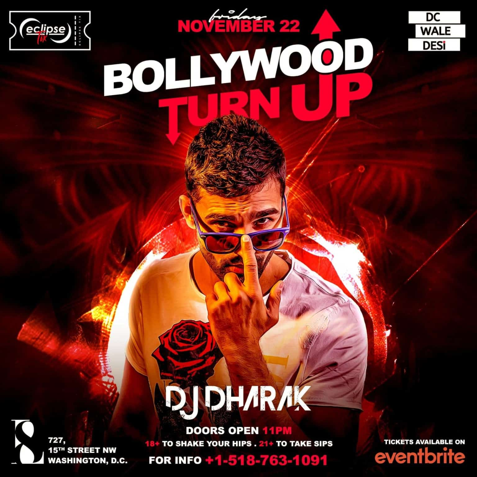 Bollywood Turn Up ft. Celebrity DJ - DJ Dharak