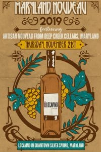 Maryland Nouveau Wine Release!